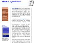 "Free! A chapter from  ""What is dyscalculia?"" - B Adler - Mathematics Screening - 2008"