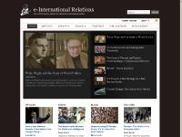 E-International Relations — the world's leading website for students and scholars of international politics