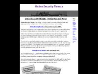 Online Security Threats - Protect Yourself Now!