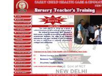 Nursery Teacher's Training by : Early Child Health Care & Education, New Delhi