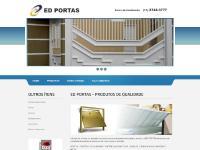 ED Portas - (11) 2748-3777 - Av. Maria Luiza Americano, n.o 23 - Itaquera - S.