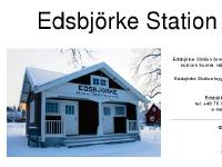 Edsbjörke Station