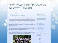 SECRETARIA DE EDUCAÇÃO DE COCAL DO SUL