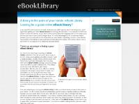 A library in the palm of your hands: eBook Library