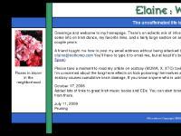 Elaine: Webbed