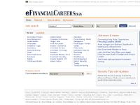 Find high profile financial jobs in South Africa and worldwide with eFinancialCareers