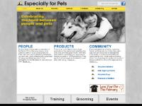 Especially for Pets - Home