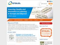 Home | EFQUEL European Foundation for Quality in E Learning