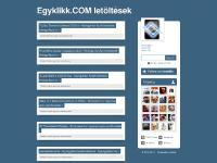 Egyklikk.COM letöltések