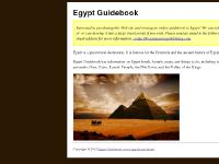 Egypt Guidebook - Online Travel Guide to Egypt, Pyramids, Hotels, Hostels, Maps, and History of Ancient Egypt and Egyptian Culture, Language, Photos, Pictures