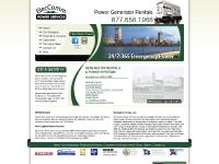 Emergency Power Generators, Generator Rental MA, CT, RI, ME, NH, NY, New England