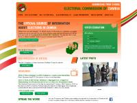 elections.org.zm Results, Accreditation, Nominations