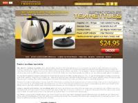 $24.95 - Electric Cordless Tea Kettle | Tea kettle shopping |