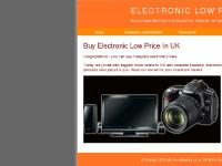 Electronic Low Price In UK - You Never Buy Cheapest Electronics If Did Not See Our Prices