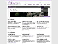 Elefant CMS - The refreshingly simple new PHP web framework and CMS.