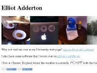 Elliot Adderton - ellcom.net