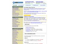 Free Email Address Directory : Guide to free email and other services
