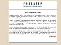 EMBRAESP - Bem Vindo ao Nosso Site.