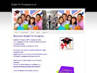 English For Foreigners.co.uk - Home