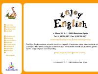 enjoyenglish.org overview, employment, introducció