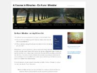 enkursimirakler.n.nu En Kurs i Mirakler, A Course in Miracles, EKIM