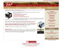 Enterprise Services & Technologies, Inc. Site Home Page