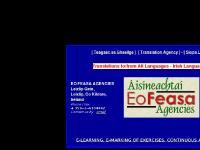 eofeasa.ie Teagasc sa Ghaeilge, Translation Agency, Siopa Leabhar Gaeilge
