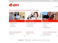 Gas and Electricity from E.ON Energy - Official Site
