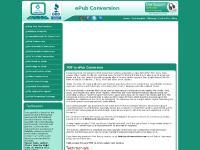 ePub Conversion   Convert PDF to ePub