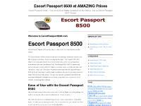Escort Passport 8500 at AMAZING Prices