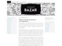 especiedebazar.wordpress.com uma espécie de bazar, O que é o bazar:, Os autores: