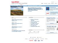safety & environment, community & development, ExxonMobil credit cards, Recruiting scams