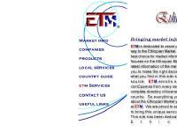 EthioMarket - The GateWay To The Ethiopian Market -