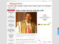 ethiopian-news.com Ethiopian, Business, Politics