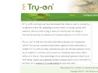 etryon.net virtual try on glasses online, software, service