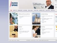 eurospine.org Patient Line Sciatica Cervical Spine Idiopathic Scoliosis Lumbar Spine Osteoporosis Scoliosis