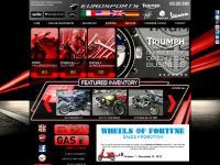 EuroSports in Coopersburg, Pennsylvania Dealership offers new and used Ducati, Moto Guzzi, Triumph, Vespa, Piaggio and Aprilia parts, accessories & maintenance.
