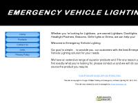 Lightbars | Lightbar parts | pre owned Lightbars | Dashlights | Headlight Flashers | Revolving Beacons | Sirens - Emergency Vehicle Lighting