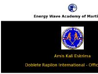 Energy Wave Dojo - International School of Martial Arts