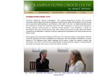 examinationsunderoath.com examinations under oath, testimony, lawyers representing insurers