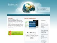 ExCoBoard - Free message board