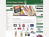 extracovercricket.co.uk Online cricket store - cricket equipment, cricket bats, cricket pads