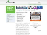 Postal Codes Canada. Lookup Canadian Postal Codes.