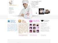 fabricadebolos.com Inicial, Experiência, Cursos