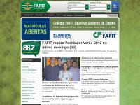 Fafit - Faculdades Integradas de Itararé | Gradução, Pós-Graduação e Cursos