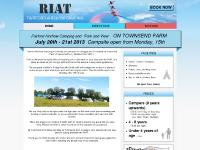 Royal International Air Tattoo (RIAT) - Fairford Airshow Camping - 2011