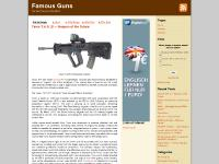 famous-guns.com asian firearms, assault rifle, bullpup