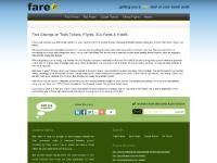 fare.co.uk cheap, fares, discounted