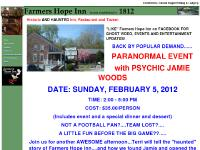 Farmers Hope Inn: Historic Hotel and Restaurant. Manheim, Pennsylvania