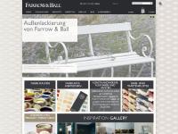 www.Farrow-ball.biz - F&B Extranet
